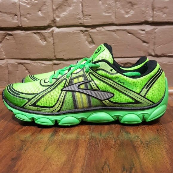Brooks Pure Flow Running Shoes Lime